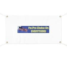 I'm Pro Choice Banner