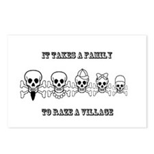 Pirate Family Postcards (Package of 8)