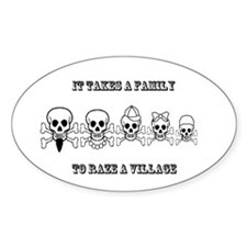 It Takes a Family Decal