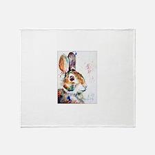 Unique Rabbit lover Throw Blanket