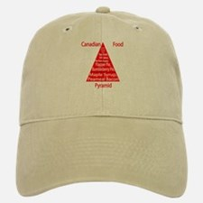 Canadian Food Pyramid Baseball Baseball Cap