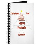Christmas Food Pyramid Journal
