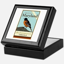 Travel Maryland Keepsake Box