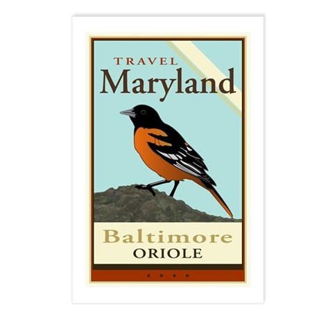 Travel Maryland Postcards (Package of 8)