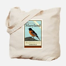 Travel Maryland Tote Bag