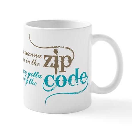 90210 zip code mug by popmediatees for 90214 zip code