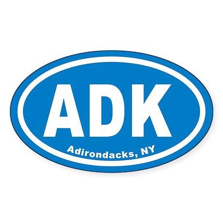 ADK Euro Oval Sticker