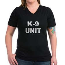 K-9 Unit Women's V-Neck T-Shirt