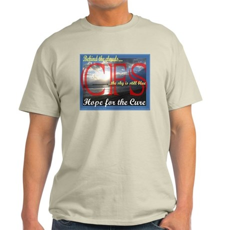 CFS - Hope for the Cure Ash Grey T-Shirt