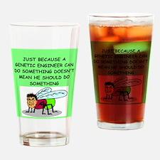 genetics Pint Glass