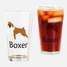 Fawn Boxer Pint Glass