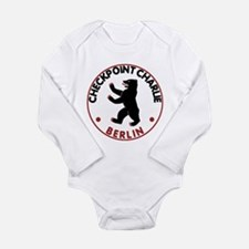 Checkpoint Charlie Berlin Long Sleeve Infant Bodys