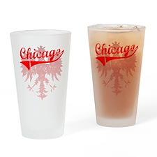 Chicago Polish w/Eagle Pint Glass