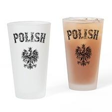 Polish Eagle Style Pint Glass