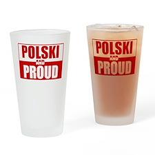 Polski and Proud Pint Glass