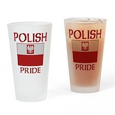 Polish Pride Flag Pint Glass