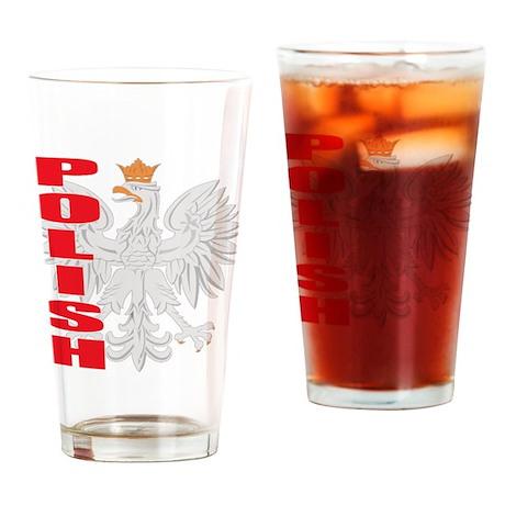 Polish Eagle 08 Pint Glass