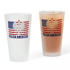 Polish American Pint Glass