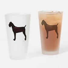 I Heart My Cane Corso Pint Glass