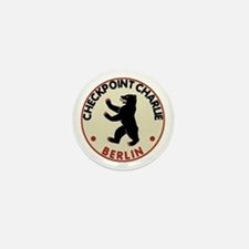 Checkpoint Charlie Berlin Mini Button