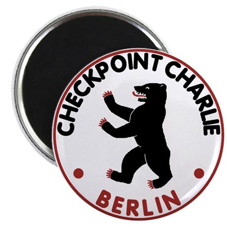 Checkpoint Charlie Berlin Magnet
