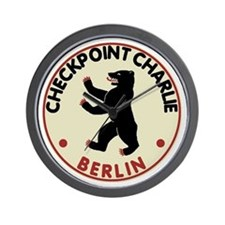 Checkpoint Charlie Berlin Wall Clock