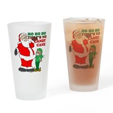 Thats no candy cane Christams Pint Glass