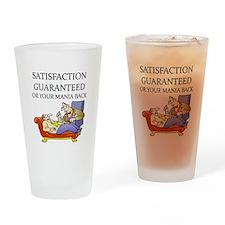 funny therapist Pint Glass