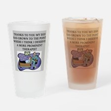 funny psychology psychiatrist Pint Glass