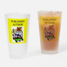 funny geek & professor Pint Glass