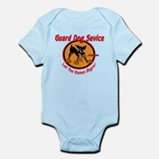 GUARD DOG SERVICE Infant Bodysuit
