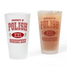 Polish Godfather Pint Glass