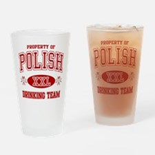 Polish Drinking Team Pint Glass