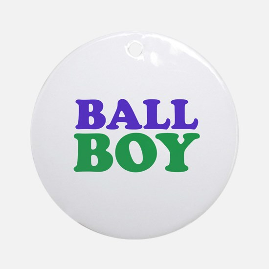 ball boy Ornament (Round)