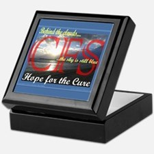 CFS - Hope for the Cure Keepsake Box
