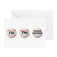 I'm the little brother Greeting Card
