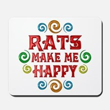 Rat Happiness Mousepad