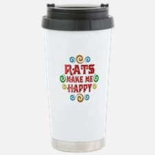 Rat Happiness Travel Mug