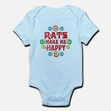 Rat Happiness Infant Bodysuit
