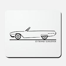 1962 Ford Thunderbird Convertible Mousepad