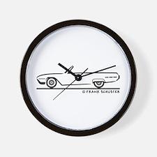 1962 Ford Thunderbird Convertible Wall Clock