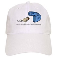 Tunnel Pug Baseball Cap