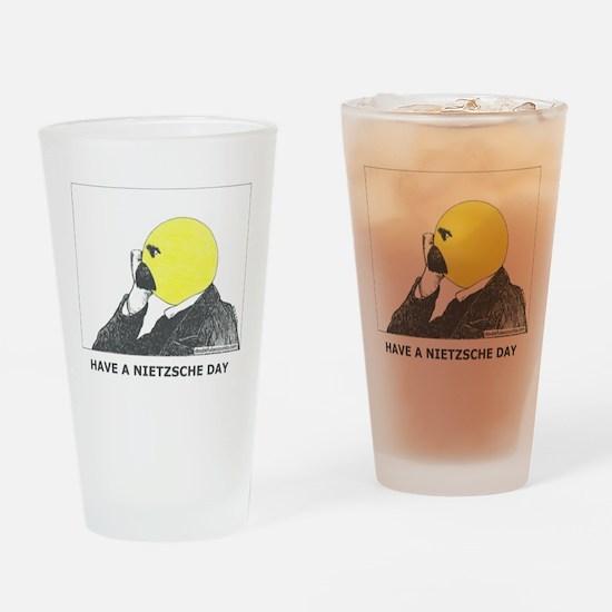 Have a Nietzsche Day, Pint Glass