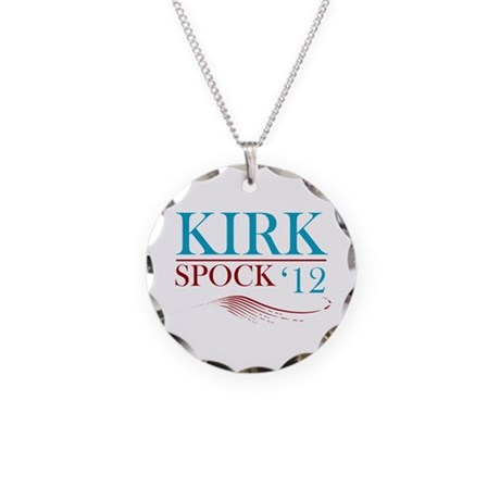 Kirk Spock 2012 Necklace Circle Charm