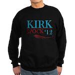 Kirk Spock 2012 Sweatshirt (dark)