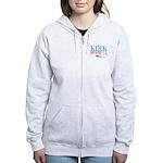 Kirk Spock 2012 Women's Zip Hoodie
