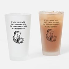 universal truth design Pint Glass