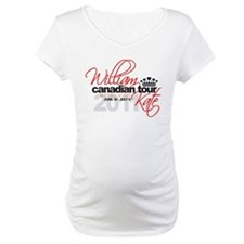 Will & Kate Canadian Tour Shirt