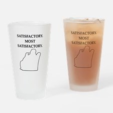 nero wolfe gifts t-shirts Pint Glass