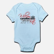 Will & Kate Canadian Tour Infant Bodysuit